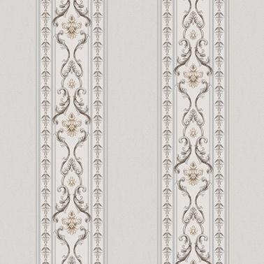 Duka Duka Sawoy Stella Dk.171601 Krem Sütunlar Üzerine  Ve Krem Desenli Renkli Duvar Kağıdı 10 M2 Renkli